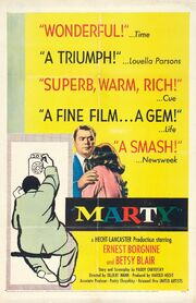 1955 - Marty Movie Poster