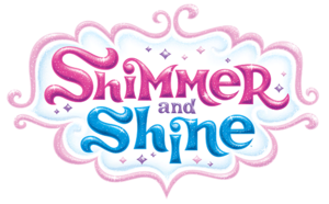 Nickelodeon Shimmer and Shine Logo Original