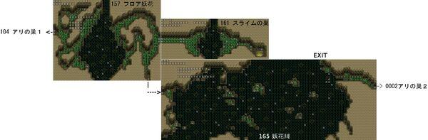 RyonaRPG - Rock mountain cave map 4