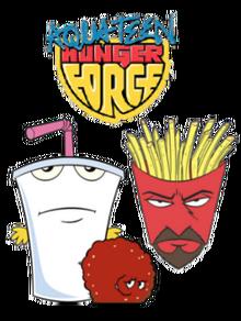 250px-Aqua Teen Hunger Force main characters