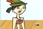 Heather screams in TDWT