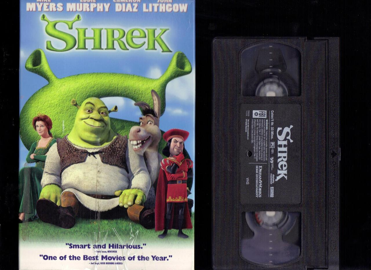 opening to shrek 2001 vhs (columbia tristar version) | scratchpad