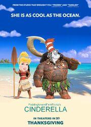Cinderella (Moana) Poster