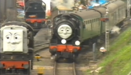 Mr Devious Diesel, Douglas, and Thomas.