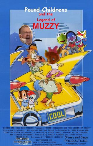 Pound Childrens and the Legend of Muzzy Poster