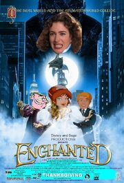 Enchanted (Disney and Sega Style) Poster