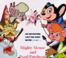 Mighty Mouse and Pearl Pureheart (Gnomeo and Juliet)