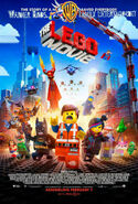 The Lego Movie poster-Family Entertainment ver