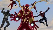 All Web Warriors - ultimatespiderman series finale - graduation day