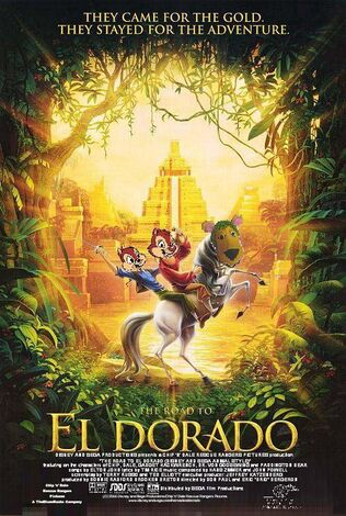 The Road to El Dorado (Disney and Sega Animal Style) Poster