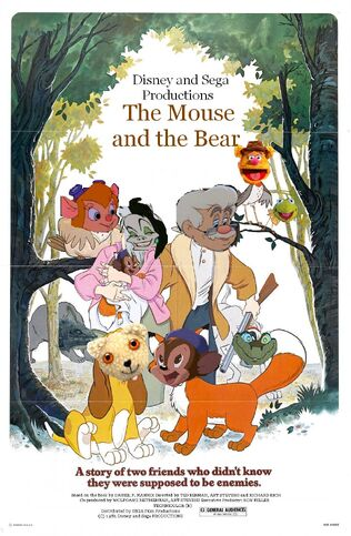 The Mouse and the Bear Poster