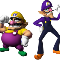 Wario and Waluigi as Victor and Moritz