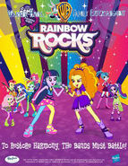 Rainbow Rocks Poster-Family Entertainment ver