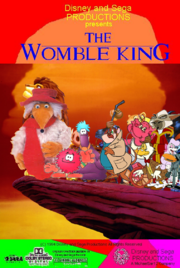 The Womble King Poster 1994