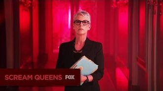 SCREAM QUEENS Character Series Dean Munsch
