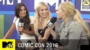 Emma Roberts, Abigail Breslin & Lea Michele on Scream Queens Season 2 Comic Con 2016 MTV
