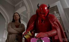 Boone como el diablo rojo