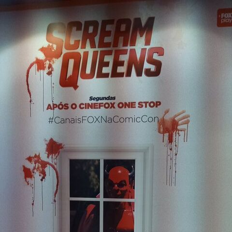 Scream Queens at Brazil Comic Con (Season 1)
