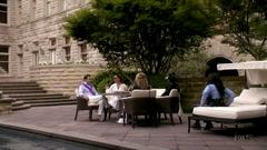 Reunión en la residencia Herfmann