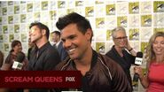SCREAM QUEENS The SCREAM QUEENS Cast At San Diego Comic-Con