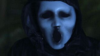 Ghostface's mask