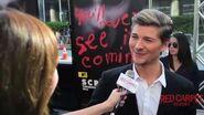 Amadeus Serafini Interview at Scream's Premiere at LA Film Festival 2015 MTVScream LAFF