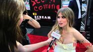 Carlson Young Interview at Scream's Premiere at LA Film Festival 2015 MTVScream LAFF
