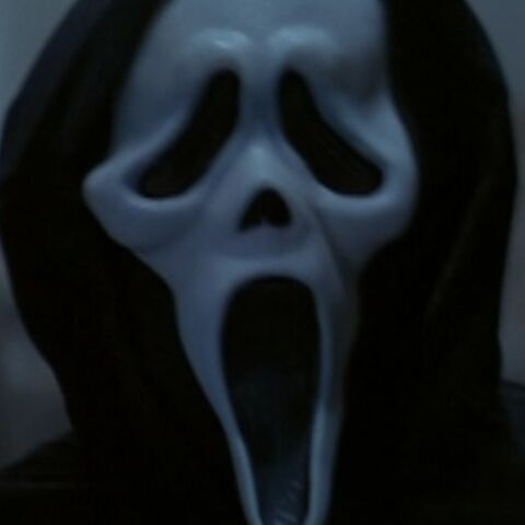 The only occurrence where Wes Craven portrayed Ghostface.