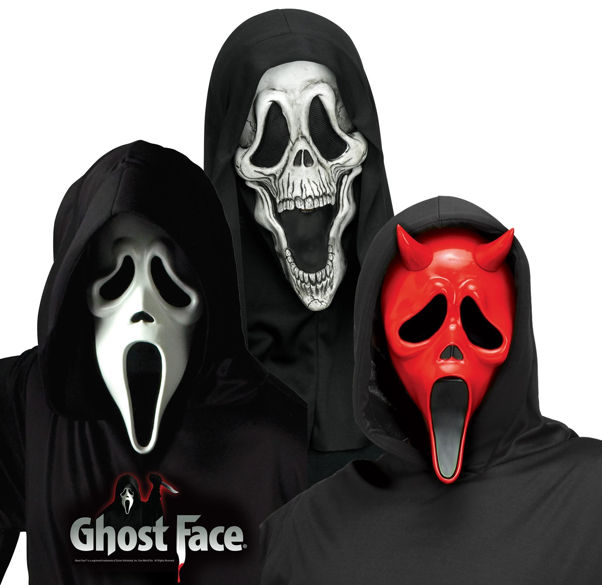 Brand New Light-Up Ghost Face Killer Child Costume