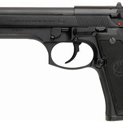 A real Beretta 92FS.