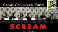 Scream (TV Series) Full Comic Con Panel 2015