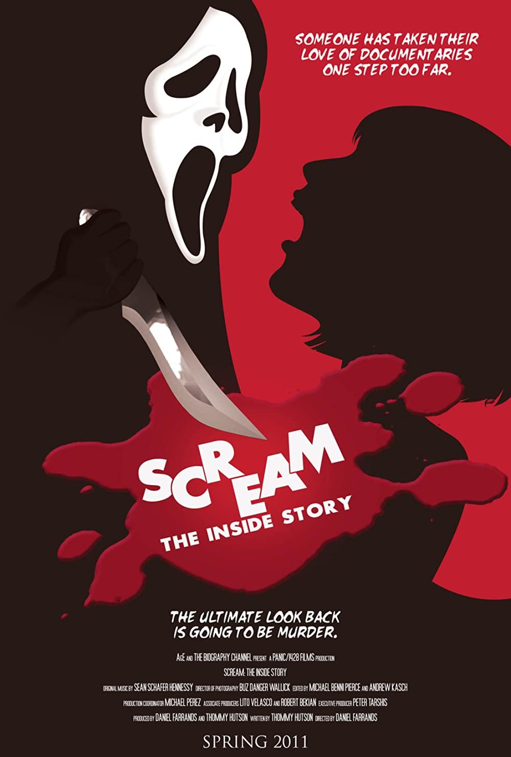 Scream The Inside Story Poster
