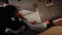 Olivia stomach stab 4