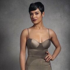 <b>Christine Hamilton</b> (Grace Byers): Joel's girlfriend. A lovely singer who's the lust interest of many stalkers not just because she's beautiful.