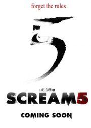 Scream5 poster