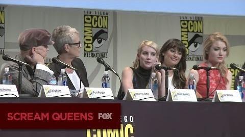 SCREAM QUEENS Comic-Con 2015 Panel Highlights