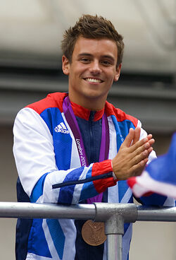 Tom Daley London (cropped)
