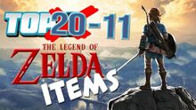 Top20ZeldaItems(20-11)