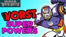 TheWORSTSuperPowers