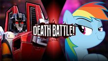 StarscreamVSRainbowDash New Thumbnail