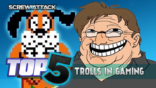 Top5TrollsInGaming