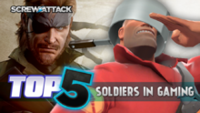 Top5SoldiersInGaming