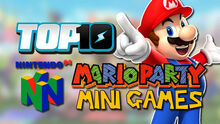 Top10N64MarioPartyMiniGames