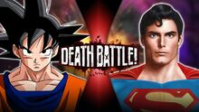 GokuVSSuperman New Thumbnail