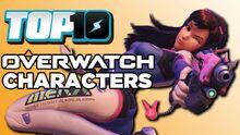 Top10OverwatchCharacters