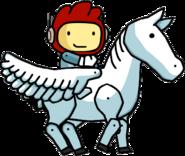 Maxwell on a Pegasus