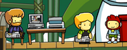 Wikia Office at the Island in Scribblenauts