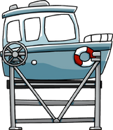 Boat on a Lift