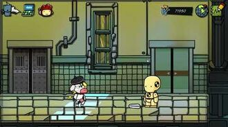 Scribblenauts Unmasked - Painful Adjective Demonstration