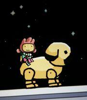 Player Riding Pug